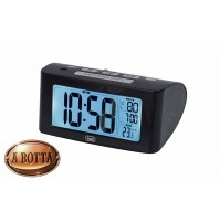 Orologio Sveglia Digitale Trevi SLD 3880 Nero  BIG Display LCD Calendario Snooze