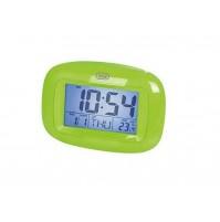 Orologio Sveglia Digitale con Termometro e Calendario Trevi SLD 3016 Verde