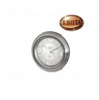 Orologio al Quarzo con Sveglia Trevi SL 3090 M Bianco in Acciaio Inox Silenziosa