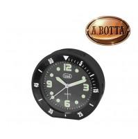 Orologio al Quarzo con Sveglia Trevi SL 3091 R Nero Sweep Silenziosa Luce Led