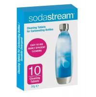 Pack da 10 Pastiglie Sodastream Pulisci Bottiglie Plastica per Gasatori di Acqua