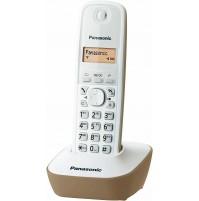 Panasonic KX-TG1611JTJ Telefono Cordless DECT Avorio Rubrica 50 Nomi ID Chiamant