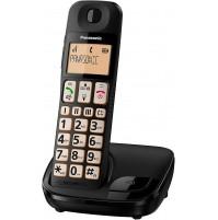 Panasonic KX-TGE110 Telefono Cordless Tasti Grandi Supporto HAC ID Chiamante