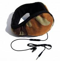 Paraorecchie con cuffie e microfono HI-EAR colore Mimetico originale Hi-Fun 205