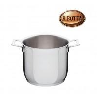 Pentola Casseruola 20 cm ALESSI Pots & Pans AJM100/20 in Acciaio Inox 18/10
