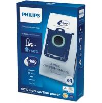 Philips FC8021/03 s-bag Set 4 Sacchetti per Aspirapolvere Philips ed Electrolux
