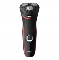 Philips S1333/41 Dry Serie 1000 Rasoio Elettrico Ricaricabile per Barba da Uomo