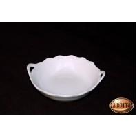 Piattino in Porcellana Bianca da Dipingere e Confezionare - Bomboniere Decoupage