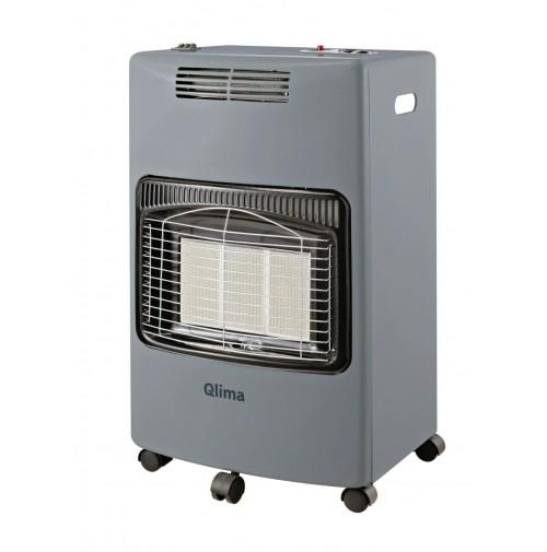 Qlima GH959RF Stufa Gas a Infrarossi 4100 W con Riscaldamento Elettrico 1800 W