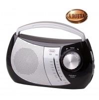 Radio AM/FM Portatile 2 Bande Trevi RA 764 Nero - Presa Cuffie