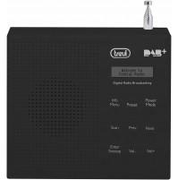 Radio DAB Portatile Ricaricabile TREVI DAB 791 R Nero - DAB+ FM Doppia Sveglia
