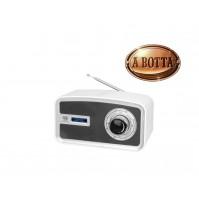 Radio DAB + Portatile con Display Trevi DAB 792 R Bianco - FM Orologio Sveglia
