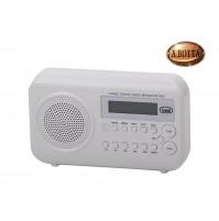 Radio Digitale Trevi DAB 790 R Ricezione Digitale DAB e Analogica FM Bianco