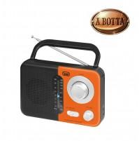 Radio Portatile AM/FM Trevi RA 768 S Arancione - Uscita Cuffie Jack 3,5 mm