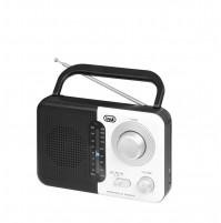 Radio Portatile AM/FM Trevi RA 768 S Bianco Nero - Uscita Cuffie Jack 3,5 mm