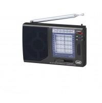 Radio Portatile Multibanda TREVI MB 728 Nero - FM AM SW Uscita Cuffia 3,5 mm