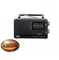 Radio Portatile Multibanda TREVI MB 746 W Nero - World Receiver FM AM SW 1 SW 2
