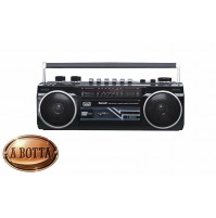 Radio Registratore con CASSETTA TREVI RR 501 BT Nero Bluetooth Stereo USB SD MP3