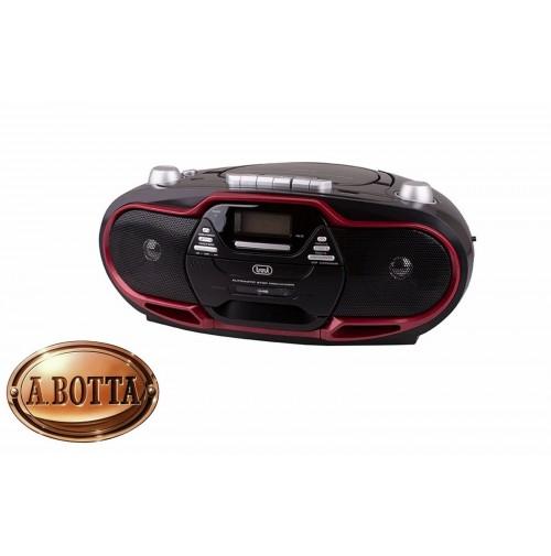 Radio Registratore con CD e CASSETTA TREVI CMP 574 USB Ross 20 Watt MP3 Radio FM