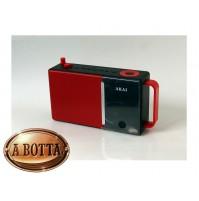 Radiosveglia Digitale Bluetooth Akai AKBT50 Alarm 3 Watt Radio Sveglia FM USB