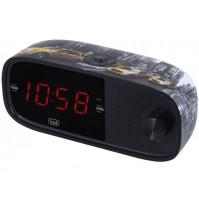 Radiosveglia Elettronica con Doppia Sveglia Trevi RC 853 D NY Grande Display