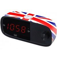Radiosveglia Elettronica con Doppia Sveglia Trevi RC 853 D UK Grande Display