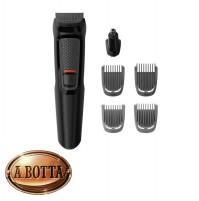 Rasoio 6 in 1 Regola Rifinitura Barba Philips MG3710/15 Ricaricabile Multigroom