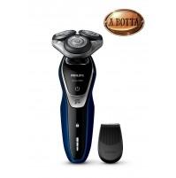 Rasoio Elettrico a Testine Philips S5572 /06 Shaver Series 5000 Con Rifinitore