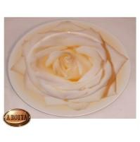 Rosenthal Classic Piatto in Porcellana 33 cm Fiore Arancione - Sottopiatto Dish