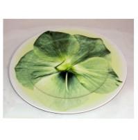 Rosenthal Classic Piatto in Porcellana 33 cm Fiore Verde - Sottopiatto Dish