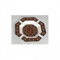 Rosenthal Versace Barocco Ciotola Posacenere Ottagonale 23 cm in Porcellana