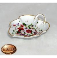 Rosenthal Versace Flower Fantasy Coppetta Foglia Piana 10 cm in Porcellana - Cup