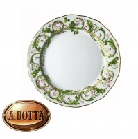 Rosenthal Versace Flower Fantasy Piatto Piano 27 cm in Porcellana - flate plate