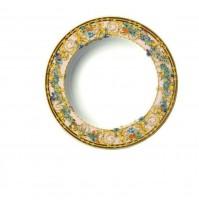 Rosenthal Versace Ikarus Le Jardin de Versace Piatto Fondo 22 cm in Porcellana