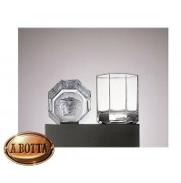Rosenthal Versace Medusa Lumiere 2 Bicchieri Whisky 90 mm in Cristallo - Glass