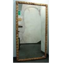 SILVANO GRIFONI 3383 Specchiera Specchio Impero Cornice in Legno Oro 162x90 cm