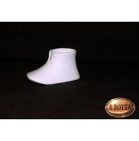 Scarpa in Porcellana Bianca da Dipingere e Confezionare - Bomboniere Decoupage