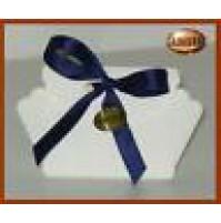 Scatolina bomboniera cestino colore avorio 10pz - 13005 Matrimonio Battesimo -