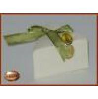 Scatolina per bomboniere fetta di torta colore avorio - 13216 Matrimonio -