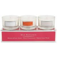 Set 3 Candele Profumate MAX BENJAMIN Floral Favourites MB-FLORAL - Regalo Candle