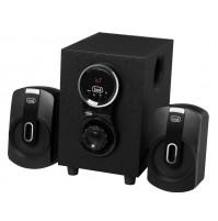 Set Altoparlanti Amplificati 2.1 con Subwoofer 30W Trevi AVX 615 BT Bluetooth