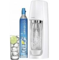 Sodastream Spirit White Gasatore d'Acqua Frizzante con Bombola CO2 e 1 Bottiglia