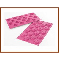 Stampo Tappettino in silicone per dolci  SILIKOMART Mini Waffel