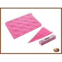 Stampo Tappettino in silicone per dolci Whoopies SILIKOMART