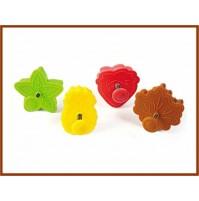 Stampo ad Espulsione 4 pezzi  per dolci  SILIKOMART Natura