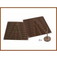 Stampo in Silicone 3 D per Cioccolati SILIKOMART