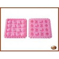 Stampo silicone per Gelatine Caramelle SILIKOMART Easy Candy Tutti Frutti