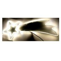 Stella Cometa Luminosa 360 Led da Esterno 79x30 cm - Luce Calda con Timer Natale