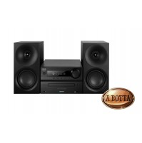Stereo HiFi TREVI HCX 1080 BT con CD Mp3 USB Bluetooth - Colore Nero - Radio