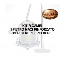 TREVI ASP432 Kit Ricambio x aspirapolvere ASP430 ASP439 - Filtro Cenere/Polveri